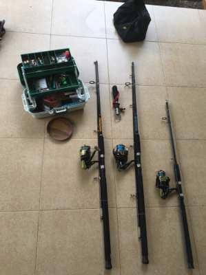 Fishing set equipment