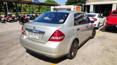 Nissan tiida 2008,AT, for sale