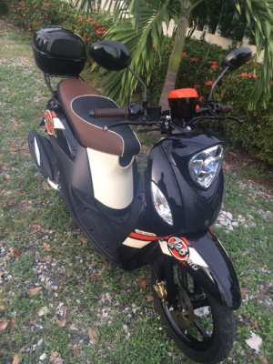 For Rent - Yamaha Fino with Back Box - 1,700 baht per Month