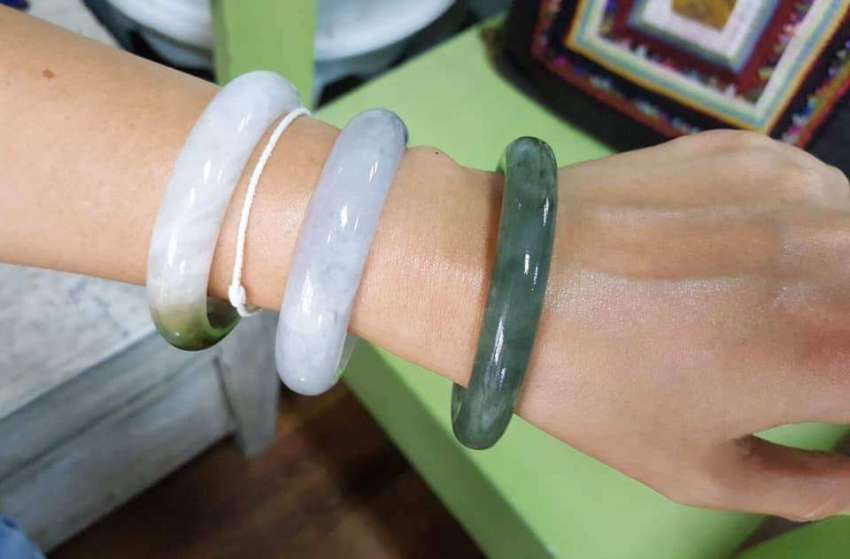 Emerald Jade Bracelet from Myamar
