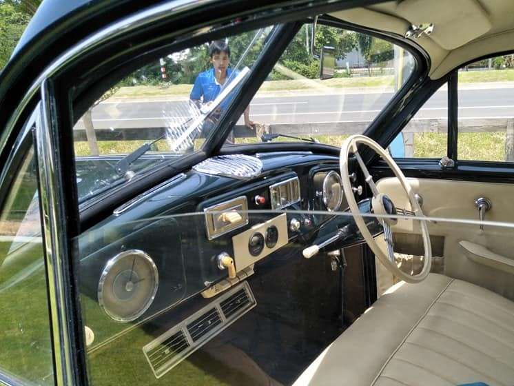 Classic Car: Borgward Hansa Saloon 1800 from 1953 fully restored!