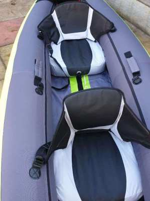 Itiwit 2 person inflatable kayak plus accesories and backpack
