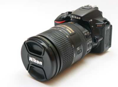 Nikon D5500 18-300 zoom, complete equipment