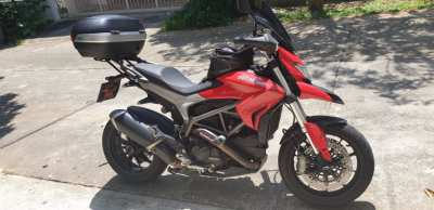 Ducati Hyperstrada - set up for long travel - price reduced