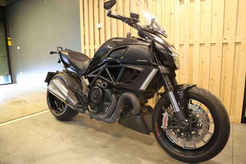 Ducati Diavel 1,200cc, 162hp BEAST
