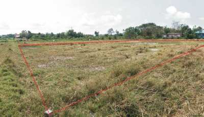 1 rai land close to Mae Ramphueng beach. Now 1,500,000 THB