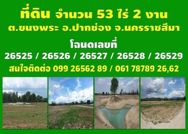 Land for sale in Pak Chong