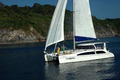 One day 4 Island tour on Catamaran