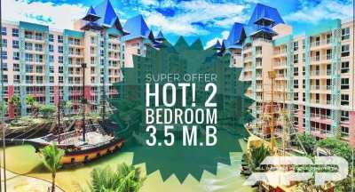 SUPER offer on the market!!! 2 bed. 3.5 m. b