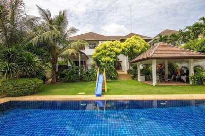 Beautiful Villa, 6 bedrooms, Soi 88 Hua Hin, opposite Hua Hin  Court