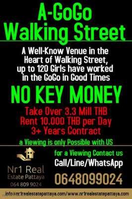 Gogo for Take Over Walking Street