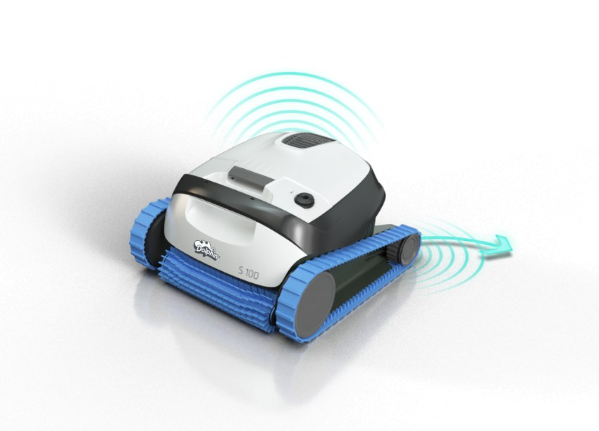 Dolphin S100 Automatic Robot Cleaner for Swimming Pools (Walls and Flo