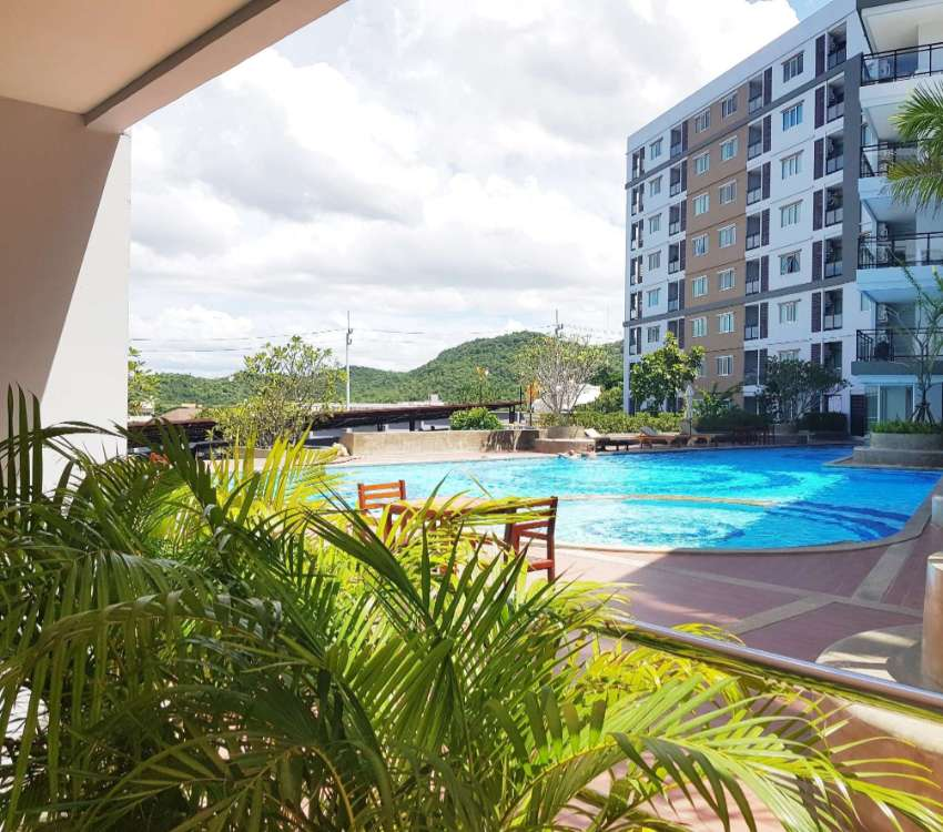 2 bedrooms condominium for sale With Pool Access in Hua Hin