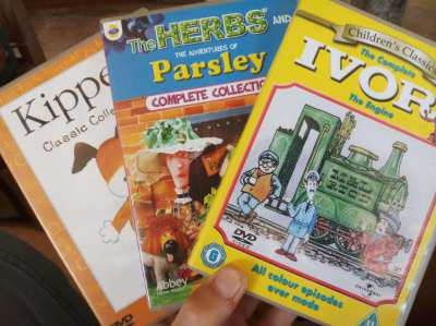 Original UK kid's DVDs - The Herbs / Ivor The Engine / Kipper  ** Free