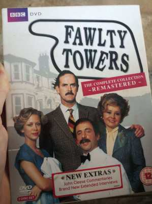 Fawlty Towers Remastered  3 x Original UK DVDs    ** Free postage **