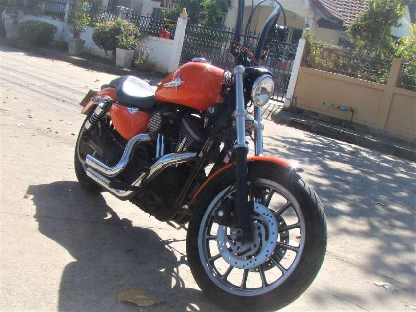 Harley Davidson Sportster Custom Bike 1.200cc