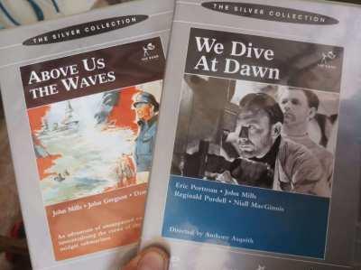 John Mills War Films, 2 x original UK DVDs    ** Free