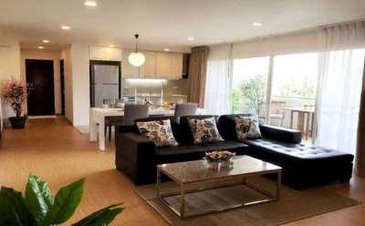Service Apartment PPR Villa Ekkamai 2Bed 2Bath 120sqm Floor5 nearBTS