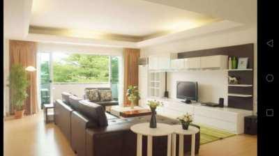 PPR Residence Ekamai Soi12 Service Apartment 2Bed 120sqm Floor7