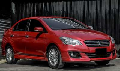 Free down payment for Suzuki Ciaz 1.25RS, 18 year, top model, one hand car