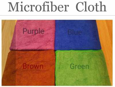 Microfiber Cleaning Cloth, Hot  Sales! 1p - 30฿/ 6p -150฿ /12p-300฿