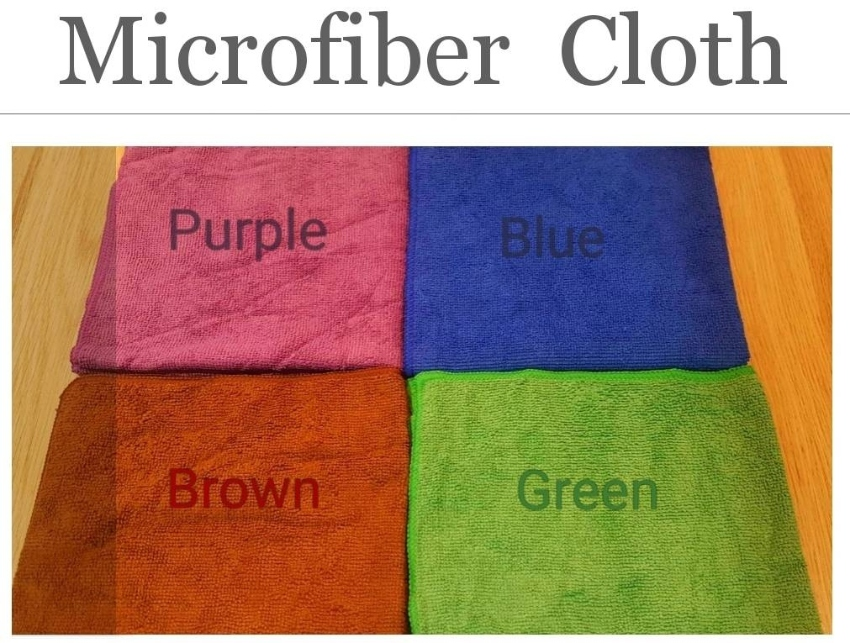 Microfiber Cleaning Cloth, Hot  Sales! 1p - 30฿/ 6p -150฿ /12p-300฿