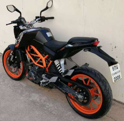 04/2017 KTM Duke 250 2.xxxkm 69.900 ฿ Finance by shop