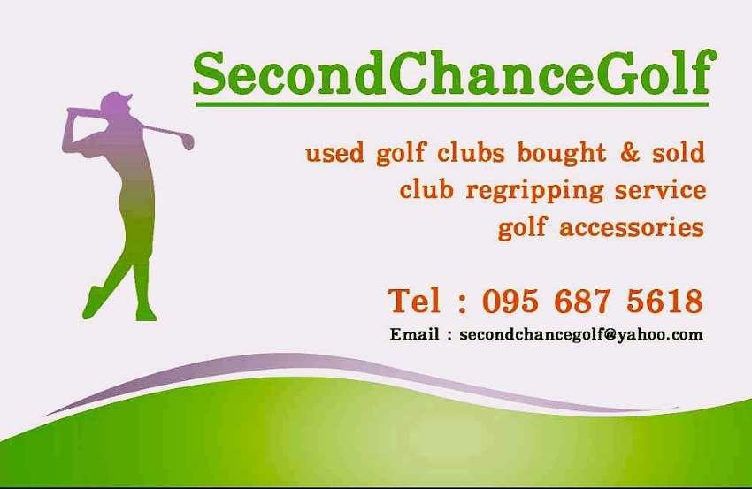 Second hand golf clubs for sale, for hire and wanted