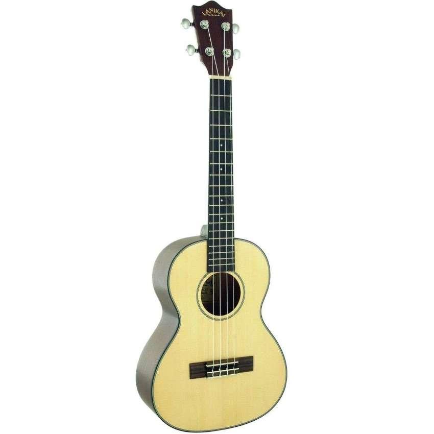 Ukulele - Lanikai S-T Solid Spruce Tenor Ukulele+Aguila Nylgut Strings
