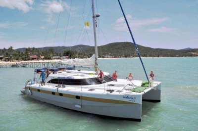 46ft Cruising Catamaran fully equipped for charter