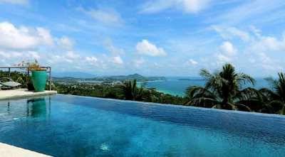 For sale Villa Sea View Chaweng Noi Koh Samui