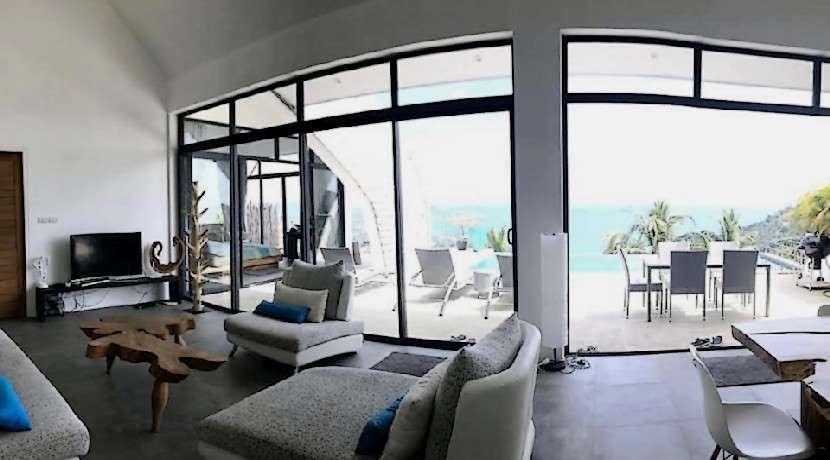 For sale Villa Sea View Chaweng Noi Koh Samui