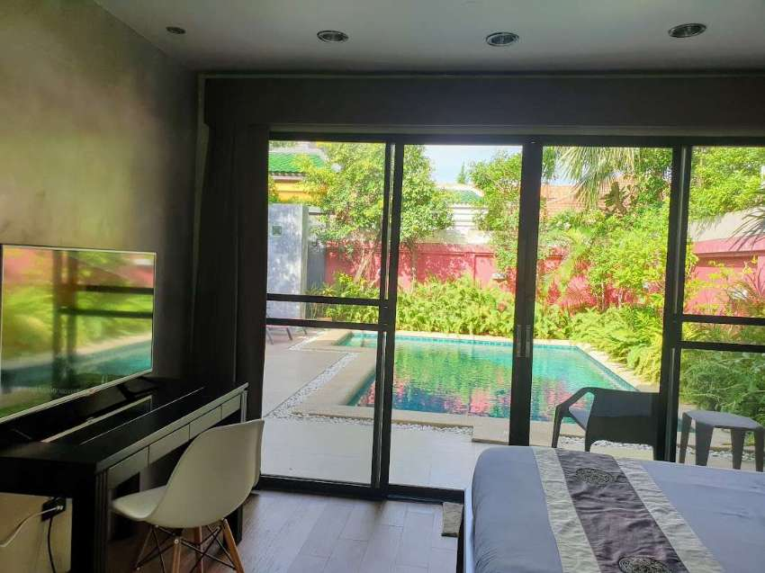 2 Bedroom pool villa in modern Thai style (within view talay villas)
