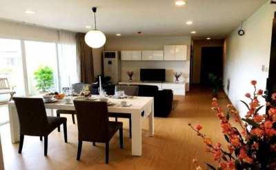 For Rent Service Apartment PPR Villa Ekkamai 2Bed 2Bath 100sqm Floor4