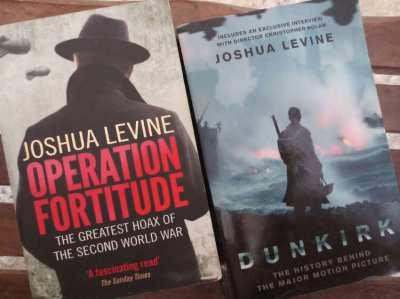 Joshua Levine - 2 fascinating WWII stories  ** free postage **