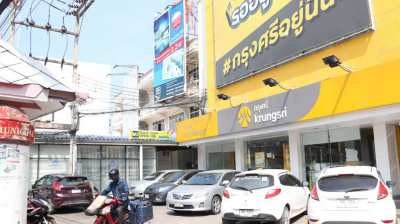 Commercial building for Sale exactly in business center of Hua Hin