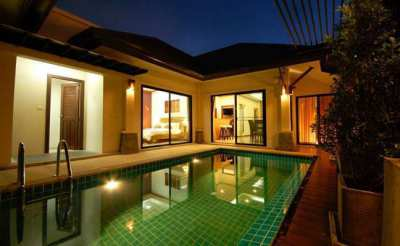 TL-0119 - Luxurious Pool Villa for Rent with 3 Bedrooms, 2 Bathrooms, 1 Kitchen