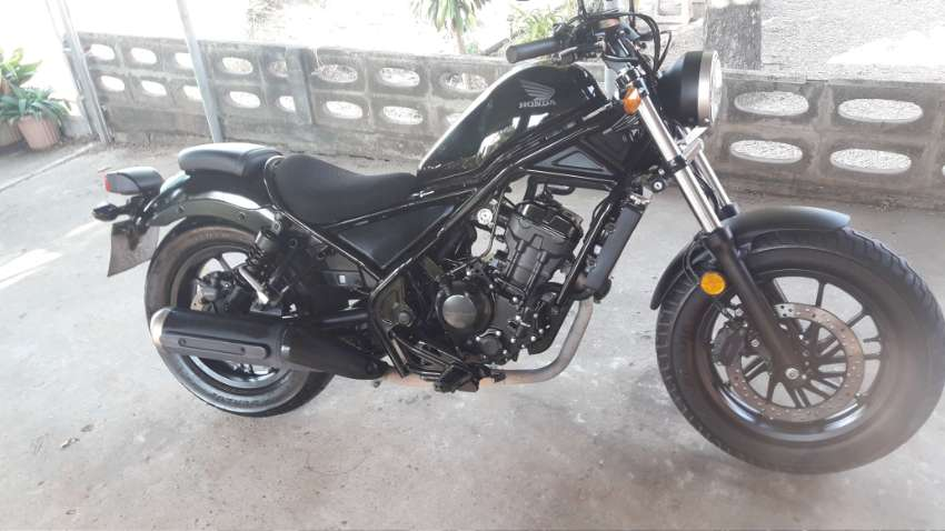 1 owner honda rebel abs, immaculate full service history
