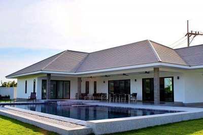 Fully Furnished Luxury 3 BR 3 Bath Pool Villa on 1.5 Rai Plot