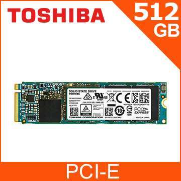 Toshiba 512 Gb PCIe NVMe SSD M.2 Drive, Can Ship ANYWHERE in Thailand!