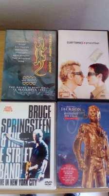 Original 5.1. Surround DVDs Springsteen.Eurythmics,Royal Albert Hall