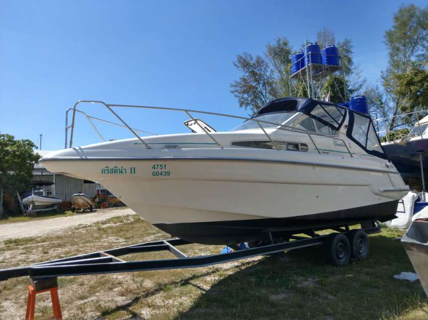 A Beautiful Unique 27' Sealine 260 Sports Cruiser for sale, with