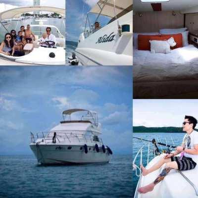 Yacht Cruise Power Catamaran 15 - 120 People 4 hours From Baht 30,000