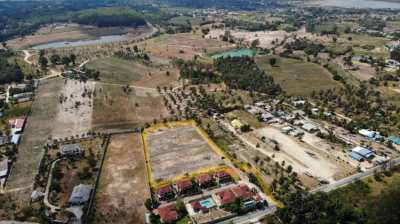 Great Oppurtunity to Buy 6.58 Rai 3 minutes from Lake Maprachan