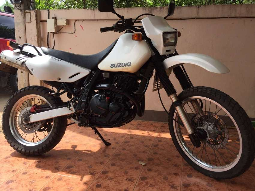 Suzuki DR 650cc one of a kind