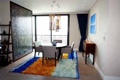 AGUSTON Condominium: 32nd floor apartment for sale, fully furnished.