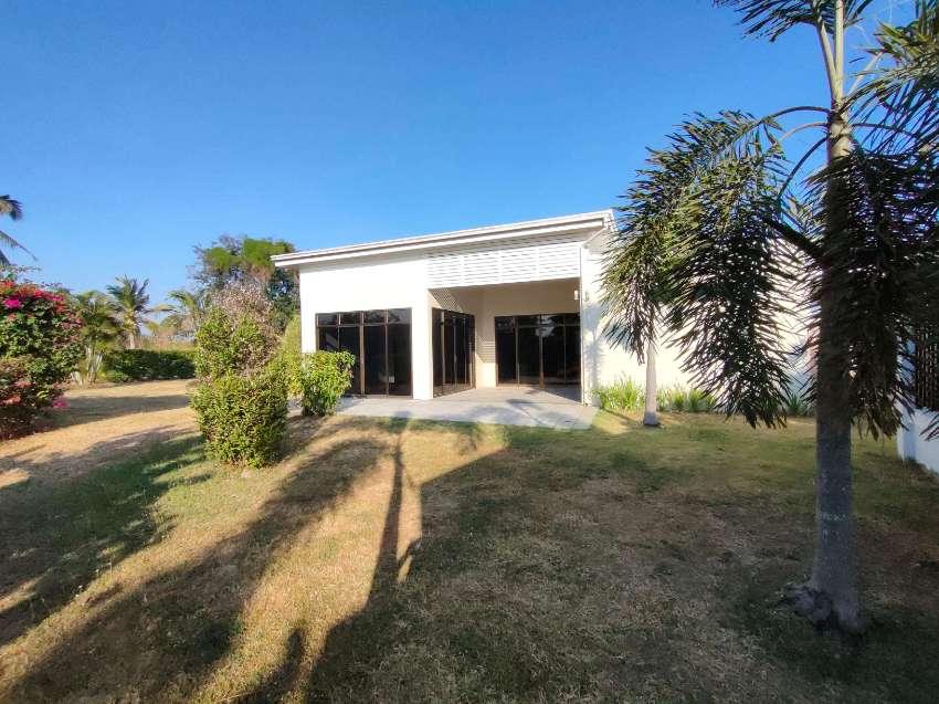 Hot!  2 BR 1 Bath Villa on Half Rai in Secure Community Near Golf