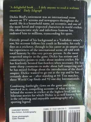 Dickie's Bird - My Autobiography