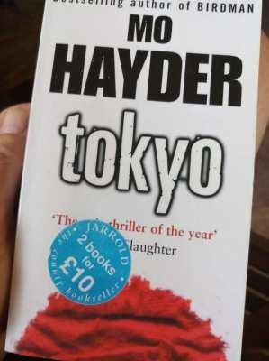 Tokyo - Mo Hayder        ** free postage **