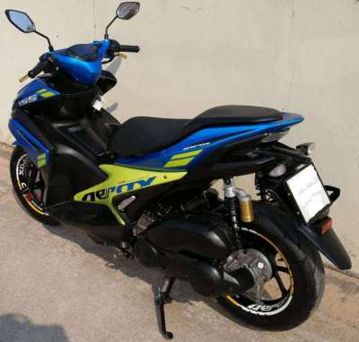 03/2018 Yamaha Aerox 155 42.900 ฿ Finance by shop